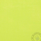 Scrapbookingpapier hellgrün mit kleinen Punkten