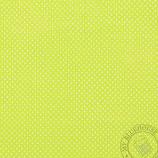 Scrapbookingpapier hellgrün mit grossen Punkten