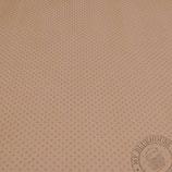 Scrapbookingpapier decaf, kaffeebraun mit Punkten