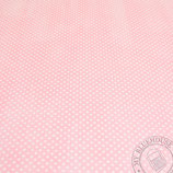 Scrapbookingpapier flamingo/rosa mit Punkten