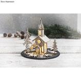 Holzbausatz Weihnachtskirche