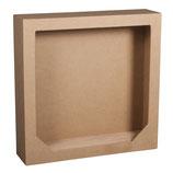 Pappmache Rahmen mit. Holzsteckboden