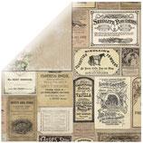 Scrapbookingpapier Serie *Soirée Boutique*