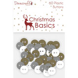 Plastic Buttons *Christmas Basics*