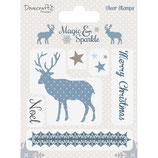 Clear Stamp-Set Magic & Sparkle *Reindeer*!