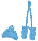 Stanzschablonen-Set *Mütze und Handschuhe*