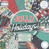 Scrapbooking-Block *Jolly Holidays* in zwei Größen