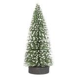 Deko-Tannenbaum grün beschneit