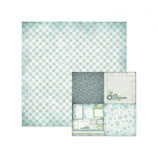 We R Memory Keepers**Weihnachten - Scrapbookingpapier Serie Winterfrost *Paper Gingham*