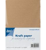 Kraftpapier A4/300 g / 25 Blatt