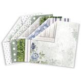 Materialkit**KaiserCraft Scrapbookingpapier Serie*Wandering Ivy* 5 verschiedene Bögen