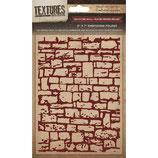 Embossing Folder Textures / Prägefolder *Dry Stone Wall*!