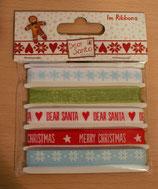 Bänderkarte * Dear Santa*!