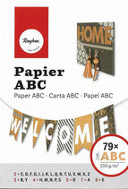 Papier ABC* in weiß oder kraft