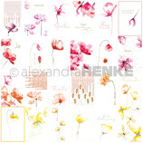 Designpapier *Kärtchenbogen Blumen*