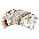 BoBunny Scrapbookingpapier Serie *Provence* Materialkit