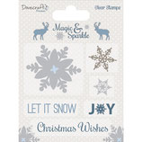 Clear Stamp-Set Magic & Sparkle *Snowflakes*!