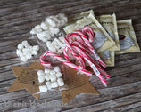 Weihnachts-Set**Schneemannsuppe** Trinkschokolade oder  Marshmallows