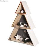 Holz-Weihnachtsbaum*3-teilig