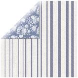 KaiserCraft Scrapbookingpapier Serie*Wandering Ivy* Blue Posy