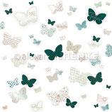 Designpapier *Gemusterte Schmetterlinge*