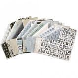 MATERIALKIT**KaiserCraft Scrapbookingpapier Serie *Barber Shoppe*