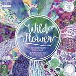 Scrap-Block *Wild Flower* in verschiedenen Größen