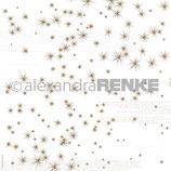 Designerpapier *Goldene Sterne*
