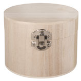 Holz Box mit Metallverschluss