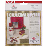 Deco-Metall 14 x 14 cm in gold oder Kupfer