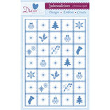 Embossing Folder / Prägefolder *Christmas Patchwork*!