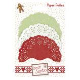 Paper Doilies / Zierdeckchen *Dear Santa*!