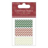 Christmas Basics Set *Kordeln / Baumwollband*