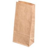 Papiertüte braun, Lebensmittelecht, erhältlich in zwei Größen!