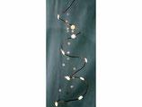 Lichterkette LED Kupferdraht *Schneeflocken* mit Timer-Funktion