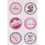 Sticker *Hugs + Kisses*