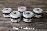 Mini-Marmeladen-Gläschen *Konfitüre* in verschiedenen Geschmacksrichtungen