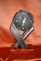 Uhr im Schieferlook,Art.Nr. 62306