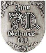 "Wappen ""Zum 70.Geburtstag"""