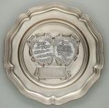 Zinn-Wappenteller Partner