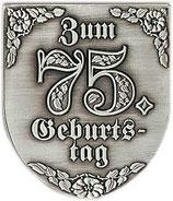 "Wappen ""Zum 75.Geburtstag"""