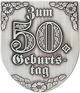 "Wappen ""Zum 50.Geburtstag"""