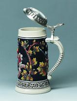 "Keramik-Bierseidel ""St.Florian"""