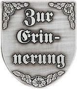 """Wappen """"Zur Erinnerung"""""""