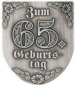 "Wappen ""Zum 65.Geburtstag"""