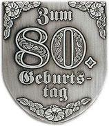 "Wappen ""Zum 80.Geburtstag"""