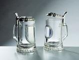Glas-Bierseidel, Art.Nr.704 und 706