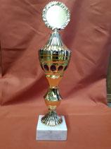 Pokal gold-blau -10-