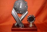 Uhr im Schieferlook, ArtNr. 62305