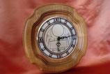 Holz-Uhr rund